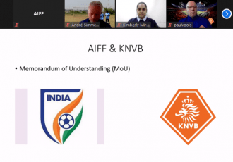 AIFF-KNVB online coaching course for women coaches. (Photo courtesy: AIFF Media)