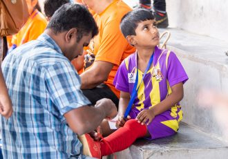 Double Pass Development Golden Baby League in Bengaluru. (Photo courtesy: AIFF Media)