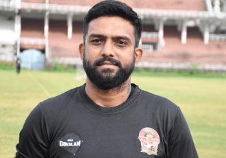 Gokulam Kerala FC's goalkeeper coach Mihir Sawant. (Photo courtesy: Gokulam Kerala FC)