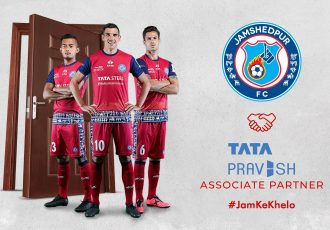 Tata Pravesh renews association with Jamshedpur FC as Associate Partner. (Image courtesy: Jamshedpur FC)