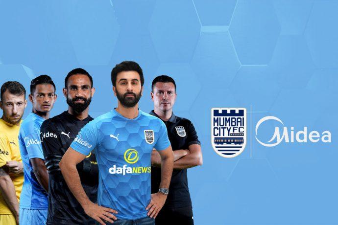 Mumbai City FC x Midea (Image courtesy: Midea)