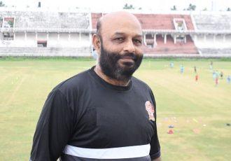 Gokulam Kerala FC Reserves Team head coach NM Najeeb. (Photo courtesy: Gokulam Kerala FC)