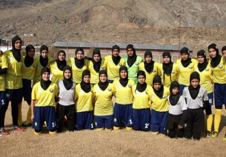 Real Kashmir FC's women's football team. (Photo courtesy: AIFF Media)