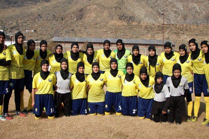Real Kashmir FC's women's football team. (Photo courtesy: AIFF Media)