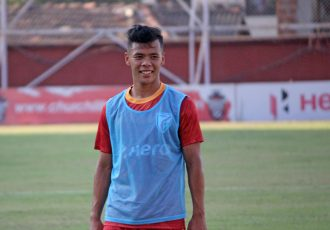 AIFF Elite Academy graduate Suresh Singh Wangjam. (Photo courtesy: AIFF Media)