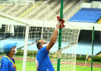 Training sessions are conducted in accordance with the guidelines issued by the All India Football Federation. (Photo courtesy: AIFF Media)