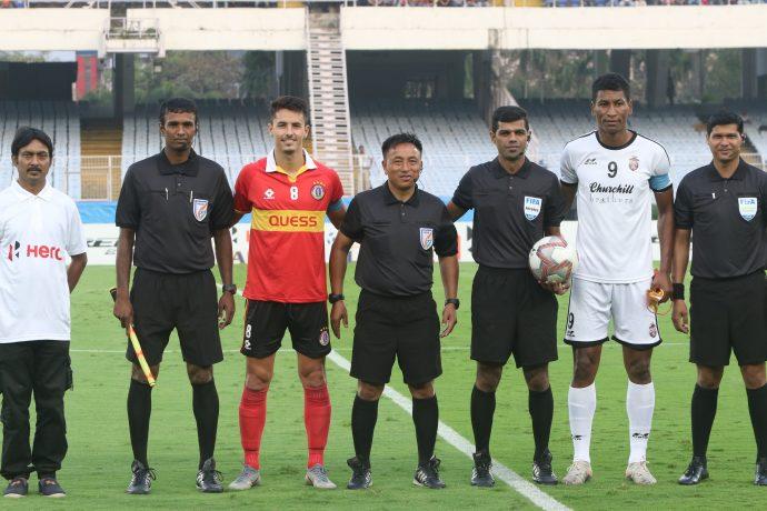 East Bengal vs Churchill Brothers Hero I-League pre-match photo. (Photo courtesy: AIFF Media)