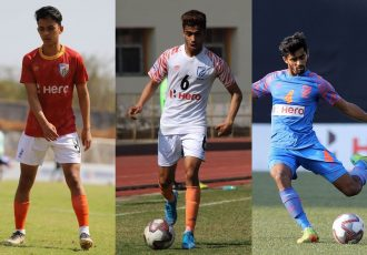 Young Indian Arrows cadets who are set to make their Indian Super League debut. (Photo courtesy: AIFF Media)
