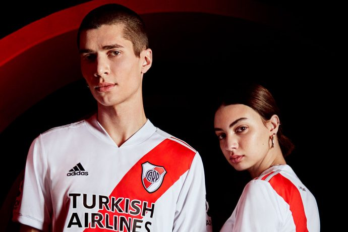 The new River Plate home jersey for the 2020/21 season. (Photo courtesy: adidas)