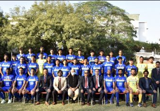 Sudeva Delhi FC squad for the 2020/21 season. (Photo courtesy: Sudeva Delhi FC)