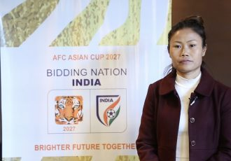 Indian Women's national team captain Ashalata Devi. (Photo courtesy: AIFF Media)