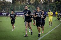 Chennaiyin FC players in training. (Photo courtesy: Chennaiyin FC)