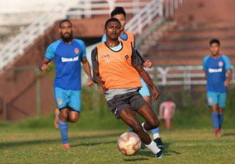 Gokulam Kerala FC winger Vincy Barreto. (Photo courtesy: Gokulam Kerala FC)