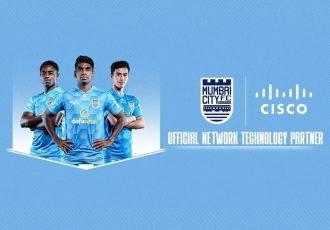 Mumbai City FC announces global partnership with Cisco. (Image courtesy: Mumbai City FC)