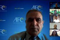 AIFF-AFC Online Workshop on Beach Soccer. (Photo courtesy: AIFF Media)