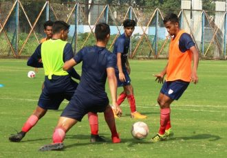 Indian Arrows training session. (Photo courtesy: AIFF Media)