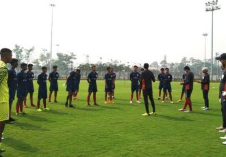 Indian Arrows training sesssion. (Photo courtesy: AIFF Media)