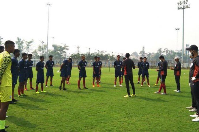 Indian Arrows training sesssion. (Photo courtesy: AIFF Media)