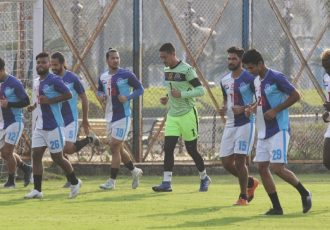 Mohammedan Sporting Club training session. (Photo courtesy: Mohammedan Sporting Club)