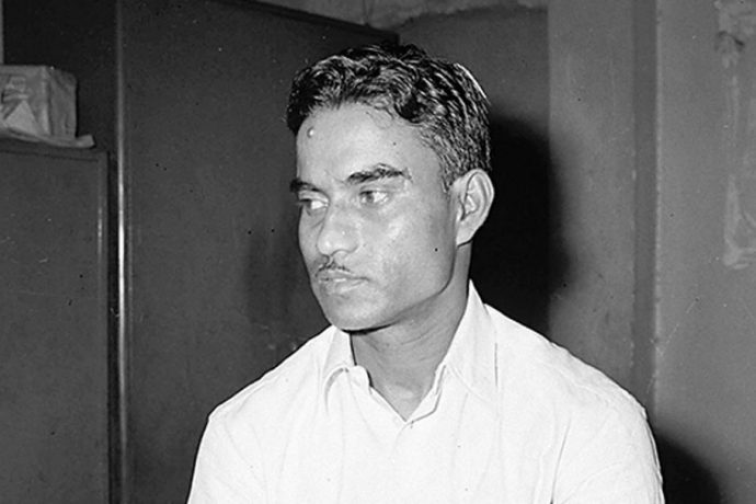 File picture of former Indian national team player Nikhil Nandy. (Photo courtesy: Anandabazar Patrika)