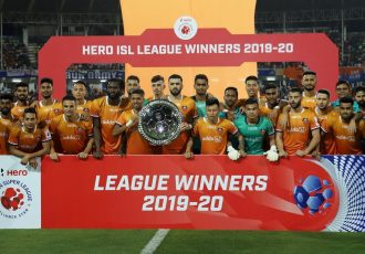 Hero ISL League Winners 2019-20: FC Goa (Photo courtesy: AIFF Media)