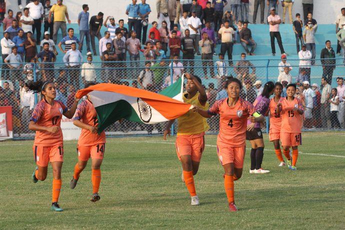 Indian women's national team. (Photo courtesy: AIFF Media)