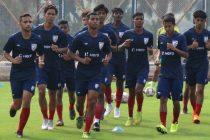 Indian Arrows players during a training. (Photo courtesy: AIFF Media)