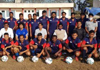 Participants of the AIFF D License Coaching Course in Sundargarh, Odisha. (Photo courtesy: Football Association of Odisha)