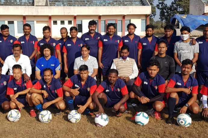 Participants of the AIFF D License Coaching Course in Sundargarh, Odisha. (Photo courtesy: Football Association of Odisha)