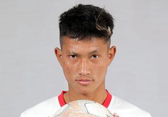 TRAU FC forward Seiminmang Manchong. (Photo courtesy: AIFF Media)