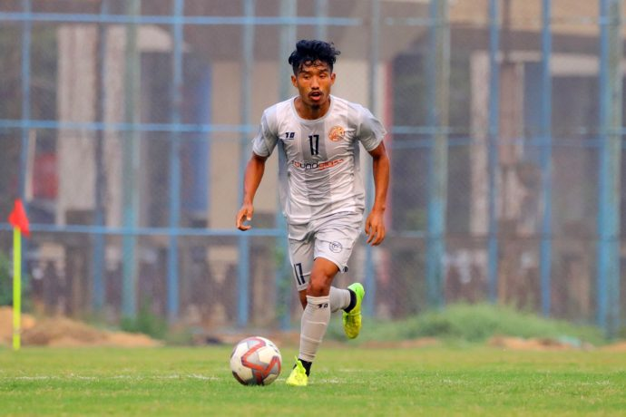RoundGlass Punjab FC midfielder Suranjit Singh. (Photo courtesy: AIFF Media)