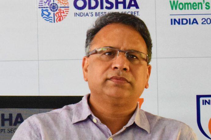 Vishal Dev, IAS and Principal Secretary, Sports and Youth Services and Tourism, Government of Odisha (Photo courtesy: AIFF Media)