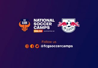 FC Goa National Soccer Camps Online supported by RB Leipzig. (Image courtesy: FC Goa)