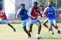 Gokulam Kerala FC traininig session. (Photo courtesy: AIFF Media)
