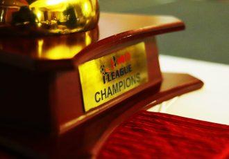 Hero I-League Trophy (Photo courtesy: AIFF Media)