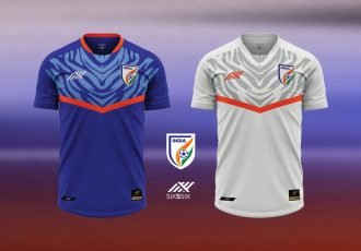 The new Indian national team home and away kit by Six5Six.