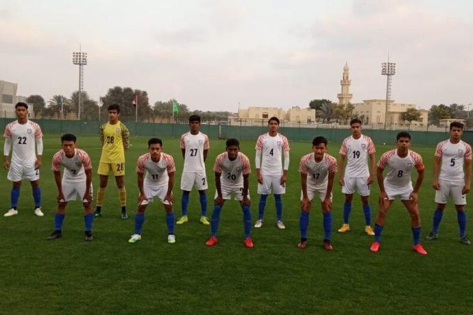 The India U-16 National Team. (Photo courtesy: AIFF Media)