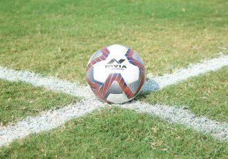 Nivia Ashtang, the official match ball of the Hero Indian Super League and Hero I-League 2020/21. (Photo courtesy: AIFF Media)