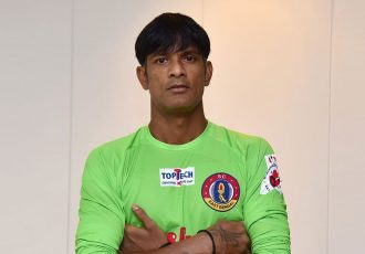 SC East Bengal goalkeeper Subrata Paul. (Photo courtesy: SC East Bengal)