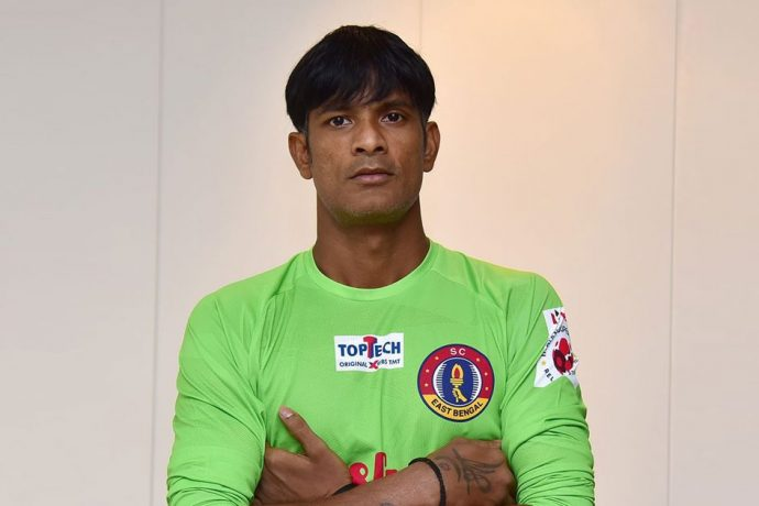 SC East Bengal goalkeeper Subrata Paul. (Photo courtesy: SC East Bengal)