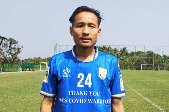 Dempo Sports Club striker Uttam Rai. (Photo courtesy: Dempo SC)