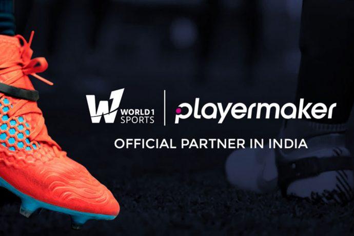 World1 Sports x Playermaker (Image courtesy: World1 Sports)