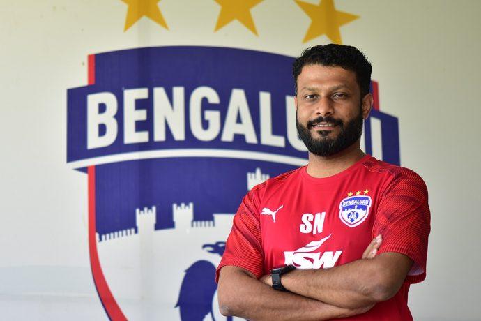 Suhel Nair, Technical Head, BFC Soccer Schools & Grassroots Development (Photo courtesy: Bengaluru FC)