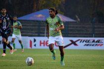Gokulam Kerala FC's Emil Benny. (Photo courtesy: AIFF Media)