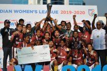 Hero Indian Women's League 2019/20 champions Gokulam Kerala FC. (Photo courtesy: AIFF Media)