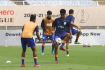 Indian Arrows players during training. (Photo courtesy: AIFF Media)