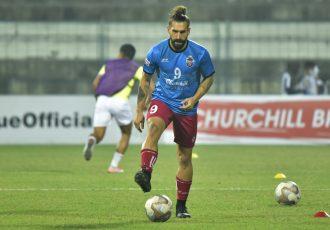 Churchill Brothers FC's Luka Majcen. (Photo courtesy: AIFF Media)