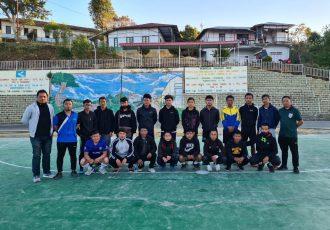 Participants of the Mizoram FA Futsal Referee Workshop in Reiek. (Photo courtesy: Mizoram Football Association)