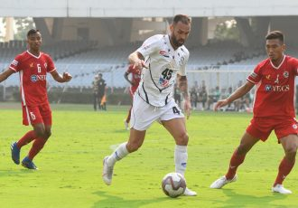 Mohammedan Sporting Club star Pedro Manzi. (Photo courtesy: Mohammedan Sporting Club)