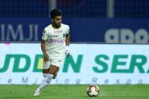 Kerala Blasters FC youngster Rahul Kannoly Praveen. (Photo courtesy: AIFF Media)